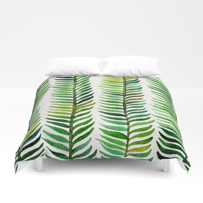 Green Chic Duvet Cover - Duvet Planet