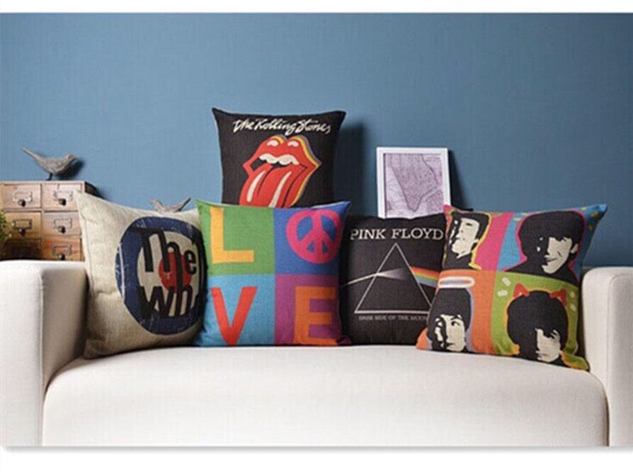 Pop Culture Pillow Covers - Duvet Planet