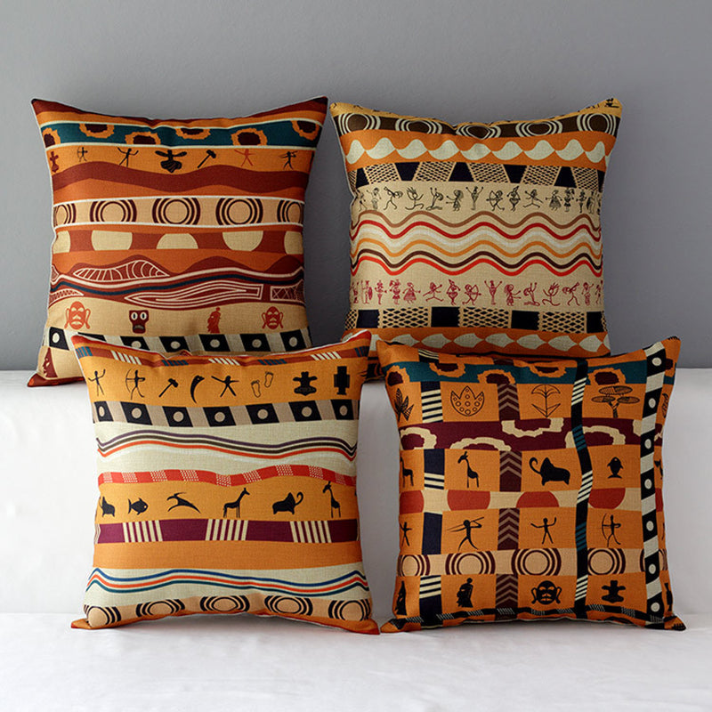 African Style Pillow Covers - Duvet Planet