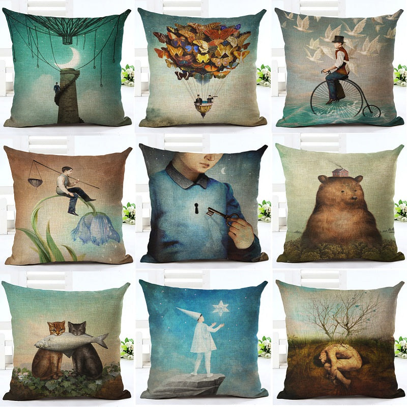 Fantasy Cushion Covers - Duvet Planet