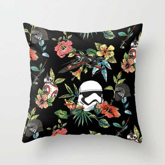 Galactic Flower Pillow - Duvet Planet