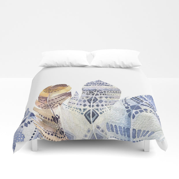 Magical Feather Duvet Cover - Duvet Planet