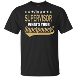 Cool Supervisor Tee / Supervisor Gift / Superpower T shirt / Supervisor Work / Coworker Gift / Promotion Gift / Humorous Saying