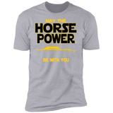 1969 Camaro SS T-shirt - May The Horse Power Be With You
