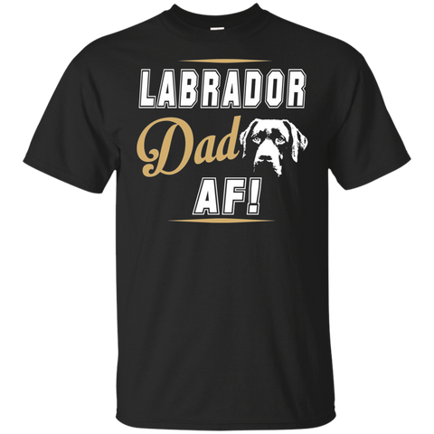 Labrador Dad Tee | Funny T-Shirt For Cool Labrador Dads