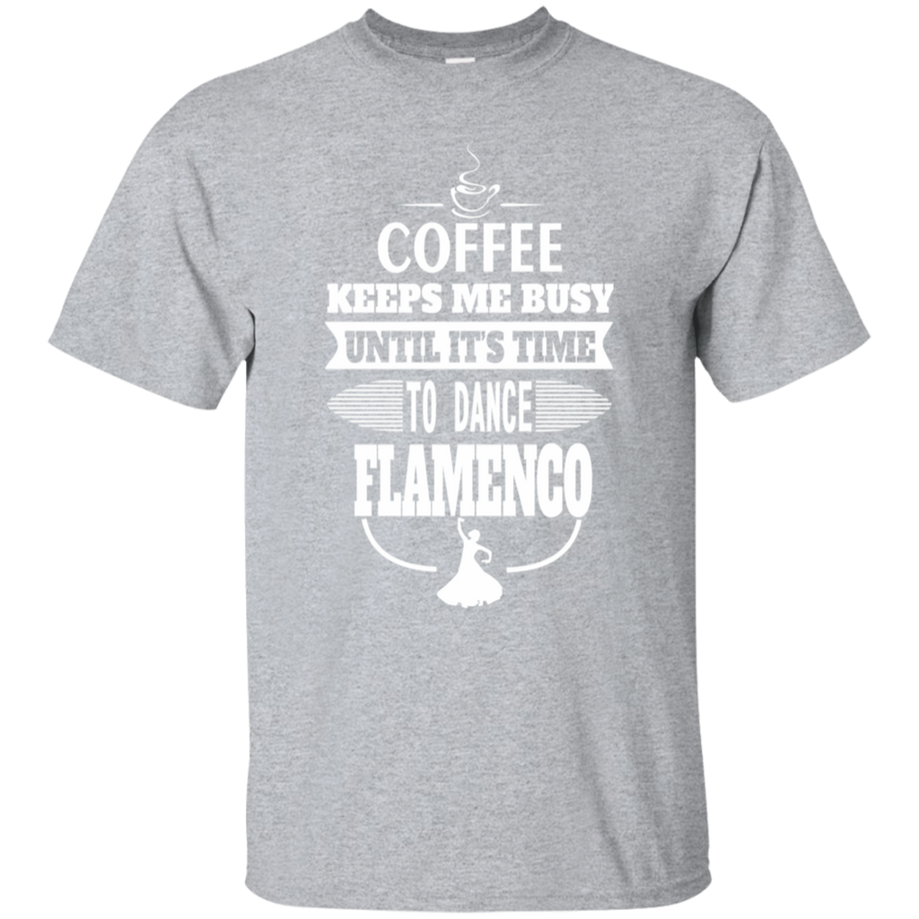 Flamenco Dancer T-shirt - Coffee and Flamenco