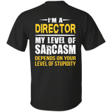Director T shirt | Gift For Director | Best Director Shirt | Director Gift | Funny T shirt | Funny Gift | Gift For Coworker | Funny Tee