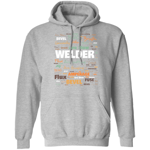 Welder Hoodie - Commonly Used Words Amongst Welders