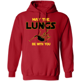 Bagpipes Hoodie - May The Lungs Be With You Funny Hoodie