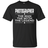 Photographer - The Man The Myth The Legend T-shirt