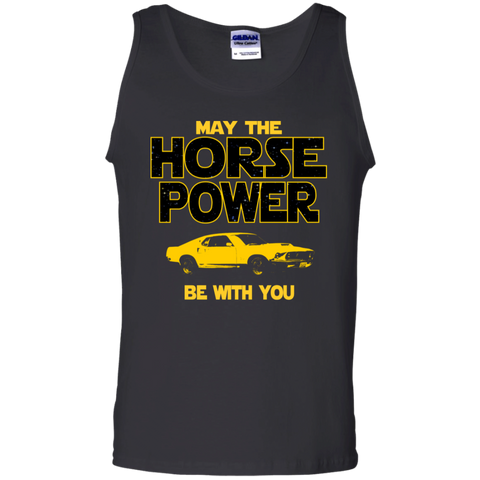 Boss 429 Inspired Tank Top | May The Horse Power Be With You