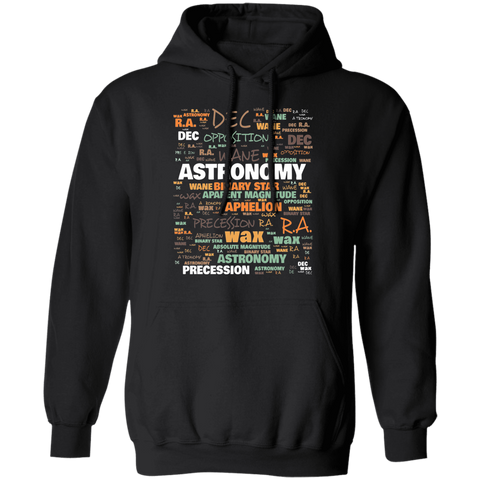 Astronomy Hoodie | Commonly Used Terms In Astronomy