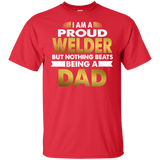 Proud Welder Dad T-shirt