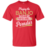 Banjo Player Gift - Banjo T-shirt - Banjo Lover Shirt - T-shirt With Saying - Funny Banjo Player - Cool Banjo Shirt - Gift For Musicians