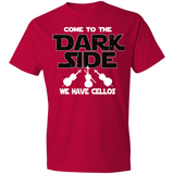 Cello T-shirt - Come To The Dark Side, We Have Cellos