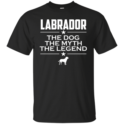Labrador | The Dog The Myth The Legend | Lab Shirt | Labrador Lover Gift