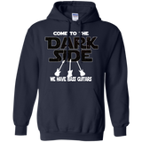Bassist Hoodie Gift For Bassist Bass Player Hoodie Come To The Dark Side We Have Bass Guitars Bass Guitar Hoodie Musician Gift