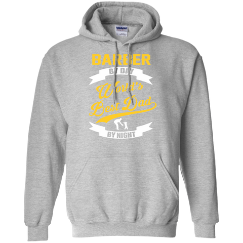 Barber By Day Hoodie / Gift For Dads