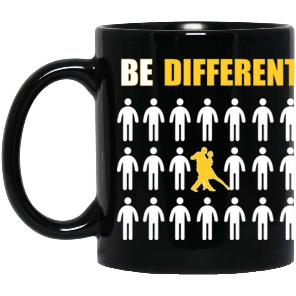 Tango Be Different Black Coffee Mug 11Oz.