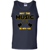 Guitar Player Tank Top - May The Music Be With You