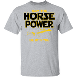 Chevrolet Chevelle SS T-shirt - May The Horse Power Be With You