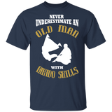 Old Man With Aikido Skills Funny T-shirt