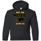 Piano Player Youth Pullover Hoodie | May The Music Be With You