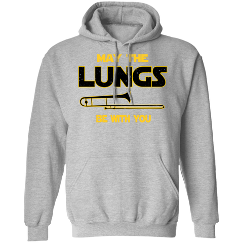 Trombone Hoodie - May The Lungs Be With You