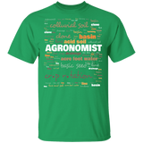 Agronomist T-shirt - Agronomy Terminology