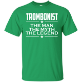 Trombonist Shirt - The Man The Myth The Legend T-shirt - Gift For Trombonist - Trombone Player - Musician Gift - Trombone T-shirt