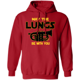 Euphonium Hoodie | May The Lungs Be With You Sci-Fi Lovers Euphonium Players Gift