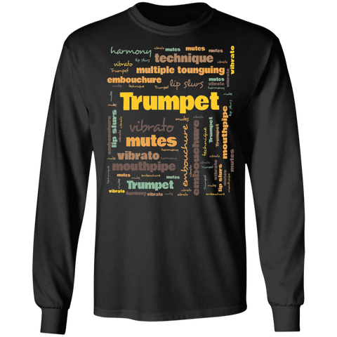 Trumpet Players Terminology Long Sleeve Unisex T-shirt