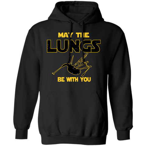 Bagpipes Hoodie | May The Lungs Be With You Funny Hoodie