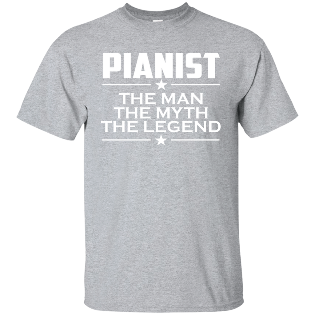 Pianist - The Man The Myth The Legend - Gift For Musician - Piano Player Shirt - Pianist Gift - Pianist T-shirt