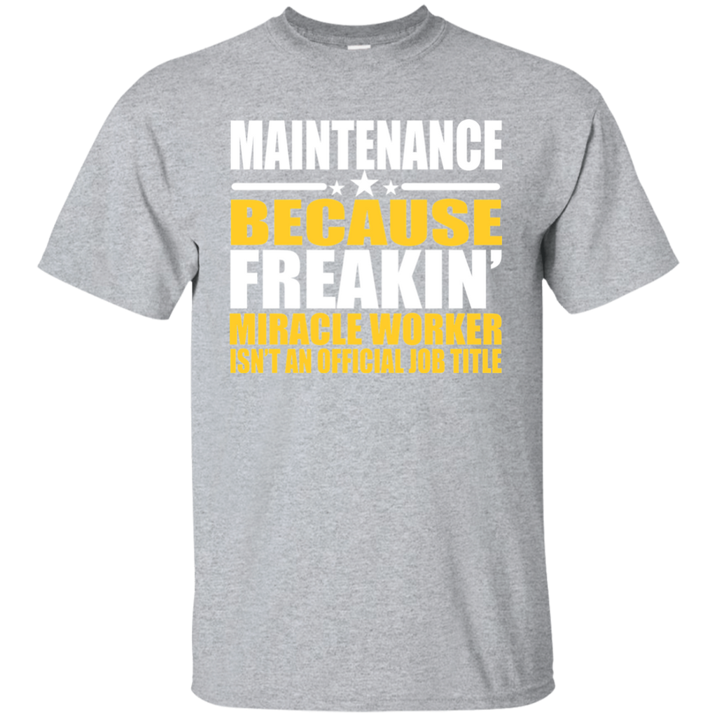 Maintenance T-shirt - Gift For Coworker - Maintenance Gift - Coworker Gift - Maintenance Job Shirt