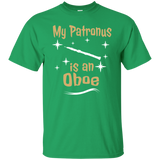 Oboe T shirt - My Patronus Is An Oboe - Gift For Oboist - Oboe Gift - Oboe Tee - Oboe Tees - Oboe T shirt - Oboe Lover Tee