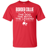 Border Collie Shirt - The Animal The Myth The Legend T-shirt - Border Collie Lovers