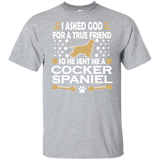 Cocker Spaniel True Friend T-shirt