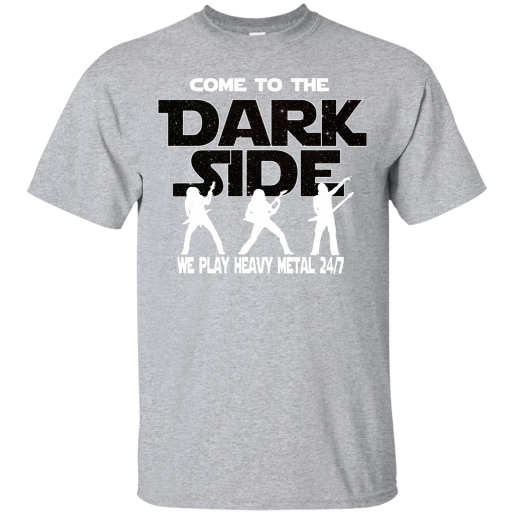 Heavy Metal Fan T-shirt - Come To The Dark Side