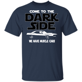 Plymouth Cuda 1971 T-shirt - Come To The Dark Side