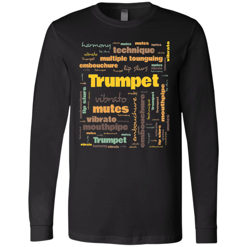 Trumpet Player Shirt Long Sleeve Unisex