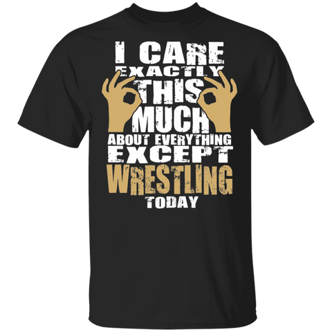 Wrestling T shirt | Wrestling Fan Shirt | Wrestling T-shirt | Wrestling Lover Tee | Best Wrestling Tee | I Care About Wrestling T shirt