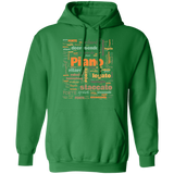 Pianist Hoodie | Pianist Gift | Gift Piano Player | Piano Player Hoodie | Musician Hoodie | Terminology Hoodie | Common Terms | Piano Terms