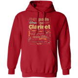 Clarinet Hoodie | Clarinet Gift | Gift Clarinet Player | Clarinet Teacher | Clarinet Lover | Terminology Hoodie Common Terms Clarinet Terms