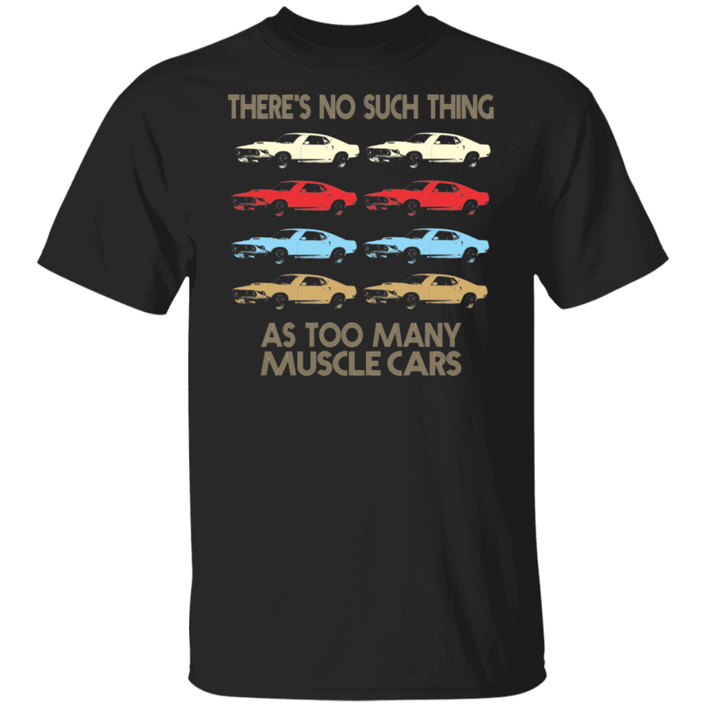 Boss 429 Ford Mustang T shirt - Retro Vintage 1970's