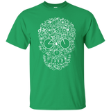 Cycler T shirt | Bicycle Skull Tee | Bicycle Lover Gift | Bicycles T-shirt | Cycling T-shirt | Cute Cycling Tee | Skull T-shirt | Cycle Tee