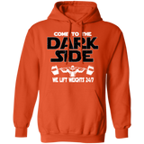 Bodybuilder Hoodie - Come To The Dark Side
