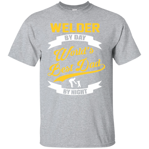 Welder Dad Shirt | Welder Gift | Gift For Welder | Coworker Gift | Gift For Dad | Dad Gift | Welder T shirt | Worlds Best Dad | Welder Tee