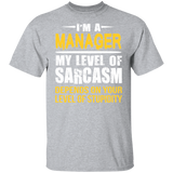 Manager T shirt | Manager Gift | Gift for Manager | Best Manager Shirt | Cool Manager Gift | Funny T shirt | Statement Shirt | Manager Tee
