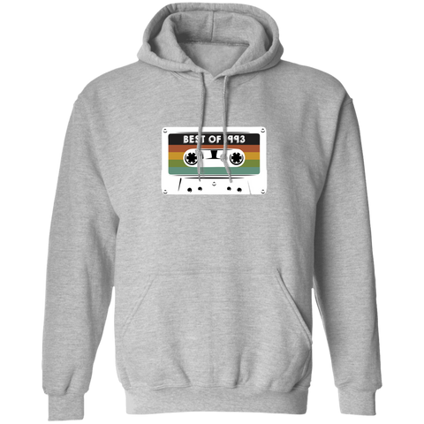 1993 Best Of Casette Tape Retro Vintage Birthday Hoodie